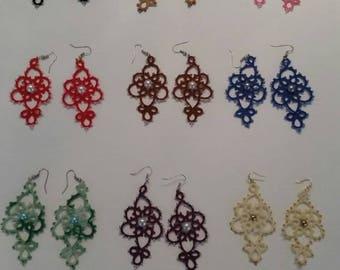 Senorita long earrings