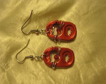 Pop Tab Earrings