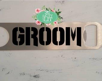 Groom Gift, Groomsmen Bottle Openers, Personalized Bottle Openers, Best Man Gift, Beer Opener, Bottle Opener, Wedding Gift