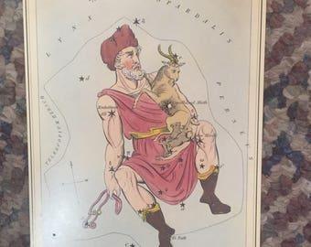 """Vintage Constellation Star Charts 5.5x8"""" pt 8"""