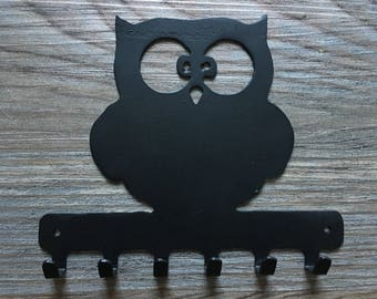 Owl Key Holder Hanger Metal
