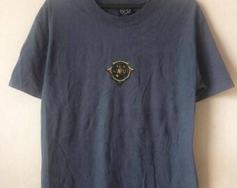 Vintage 90's Maui & Sons Tshirt RARE Big Logo Print Skeater Street wear
