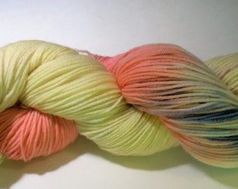 Sock Yarn! 90 Merino 10 Nylon for strength Hand Dyed Superwashed