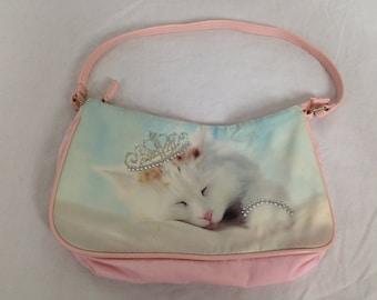 Silly cute princess kitty purse