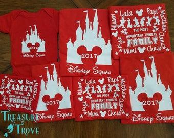 Family Disney Squad Shirts