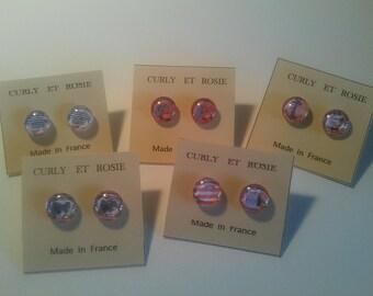 Beach party earrings