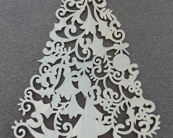 Gray tree 21 cm x 30 cm in height to decorate your home