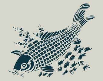 CARP stencil. Katagami (ref 230)