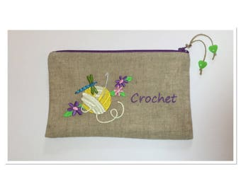 EMBROIDERED CROCHET THEME KIT