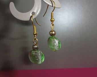 Spring Green Apple earrings