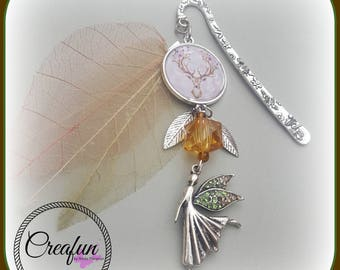 bookmark, forest fairy