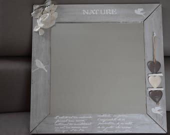 My adorable romantic mirror with delicate tones