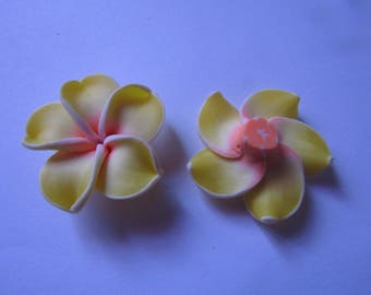 Pearl flower polymer 35mm in diameter