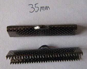 2 tips very dark crimping pliers very dark black 35mm wide x7mm high