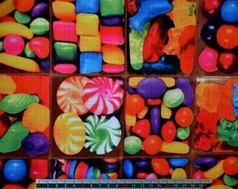 PVC coated fabric * waterproof * motif candy