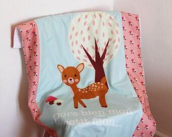 """Blanket pattern """"Fawn"""""""