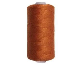 Spool sewing thread / brown rust / 250 m