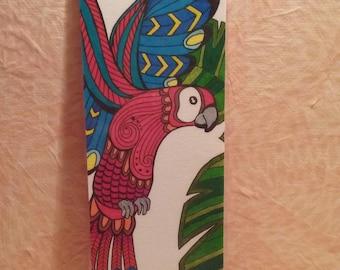 Bookmark - Ara Parrot