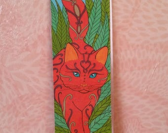 Bookmark - cat Rusty