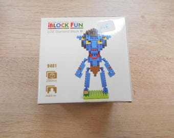 mini puzzle brick 3-d avatar boy 250 pieces
