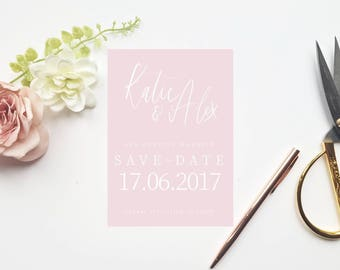 Katie Save the Date