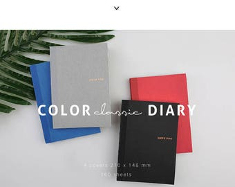NOTE FOR Colour Diary [Classic]