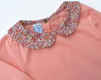 Shirt collar liberty Emma & Georgina - 4t