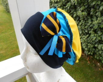 Turban Beanie Hat woman in sweet jersey linen ' EVA