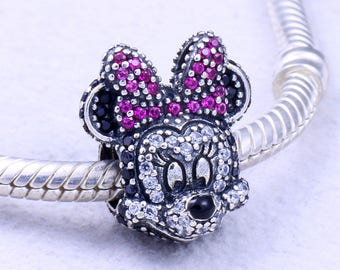 Genuine Pandora Disney Limited Edition Minnie Portrait Charm 794500