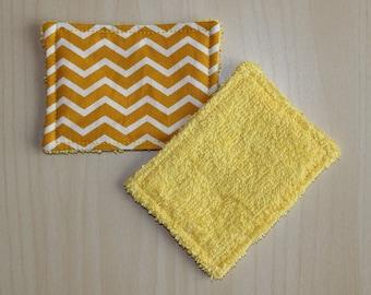 """Wipe wash """"mini"""" - 6.5 x 9 cm - zigzag pattern"""