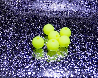 BEADS 10 MM POLARIS yellow (ppj703)