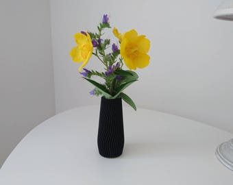 Vase with 3D printing PLA