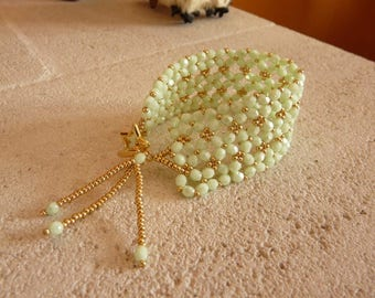 SOFT GREEN CUFF BRACELET - THE CORNER OF THE GREAT DEALS