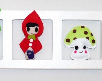 Child and idea - little Red Riding Hood theme and unique baby room decoration