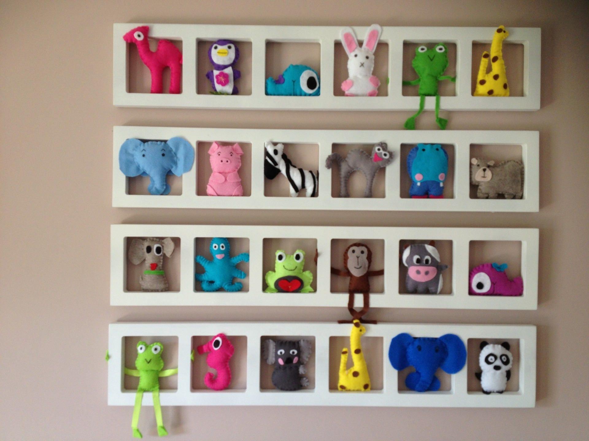 Décoration chambre enfant et bébé ludique et colorée Cadres