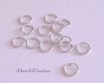 Rings open 10 X 1.2 mm - steel 304L