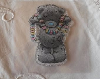 "Clear silicone stamp / pattern ""Teddy Bear"""