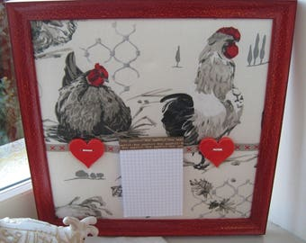 """reminder"" country chic style frame"