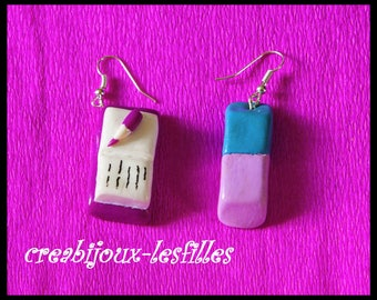 earring specifications gum fimo gifts