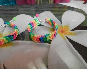 the multicolored neon (bracelet)