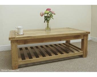 Baku mango wood coffee table