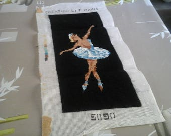 CANVAS READY TO BE FRAMED BLUE DANCER