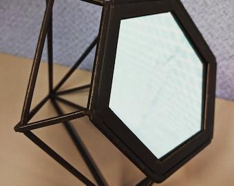 Hexagon Desk Mirror