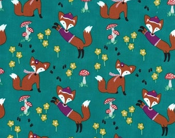 Fabric patchwork Fox Miller