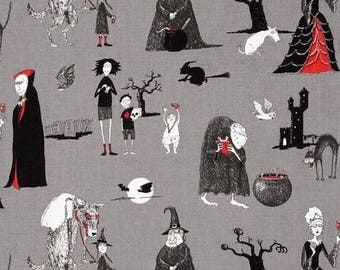 Patchwork Odditties gray character Alexander Henry fabric