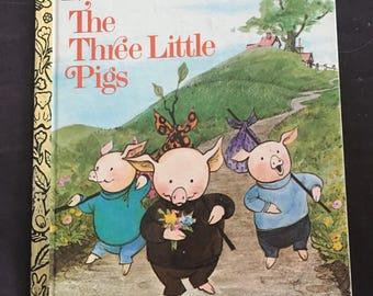 The Three Little Pigs: A Little Golden Book