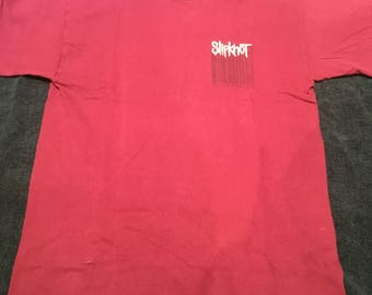 Slipknot Euro Tour 99 Blue Grape Shirt