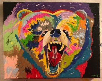 Call of the Wild (original painting) 8x10