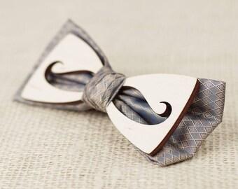 Bow tie wood, bow tie for men, Women's wooden bow tie, Wooden bow tie, Unique Bow Tie ,Wedding bow tie, Wooden gift,bow tie,wood tie