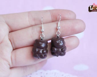 Handmade earring - Little bear